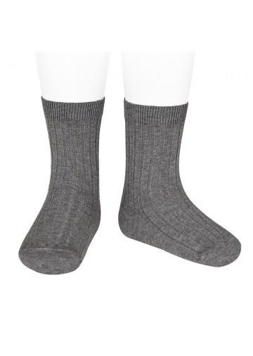 Ribbed Short Socks