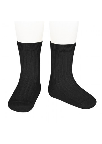 Ribbed Short Socks